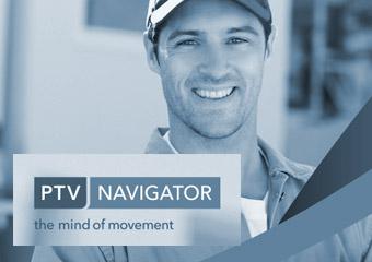 PTV Navigator LKW-Navigationssoftware